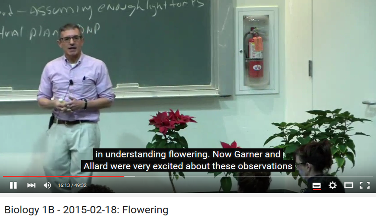Introductory plant biology video lecture series | Plant Science Today