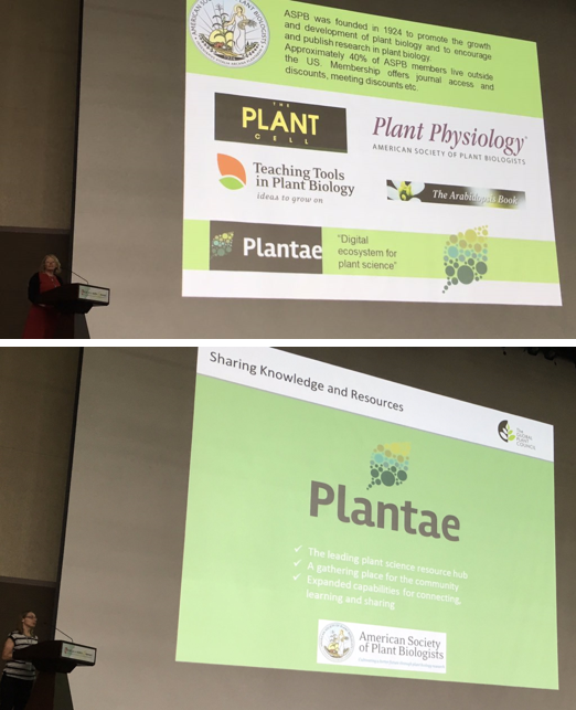 Mary and Ruth tag-team Plantae. Pictures courtesy of @GARNetweets