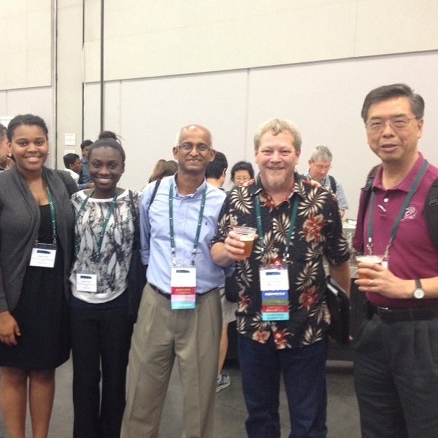 Four generations of plant research #plantbiology14