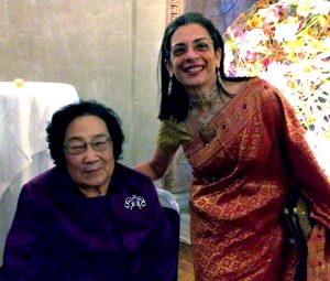 Tu Youyou and Sabeeha Merchant
