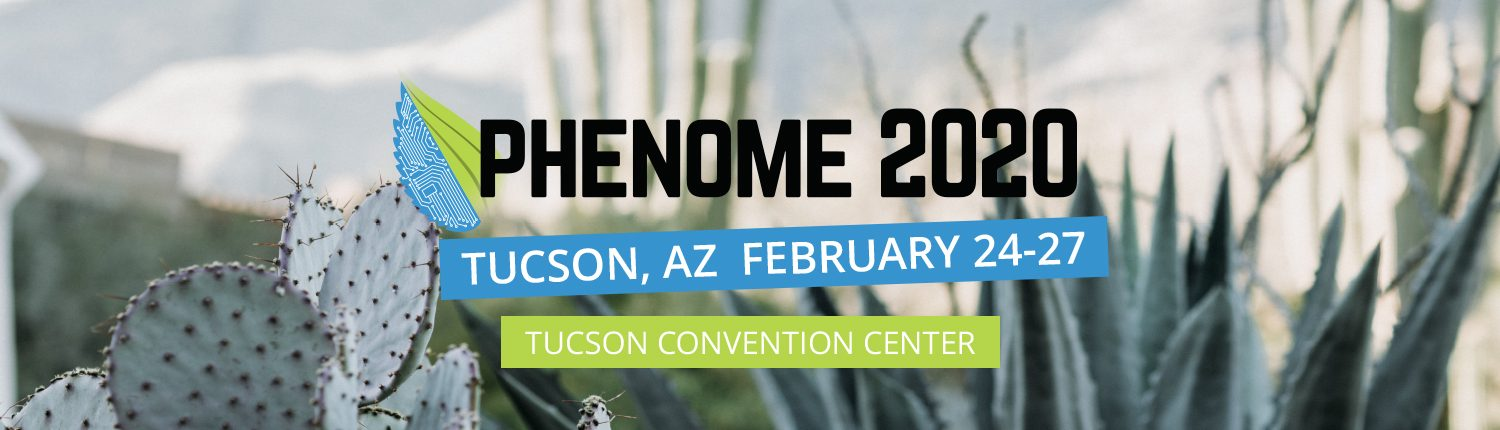 Registration and Abstracts Are OPEN for Phenome 2020!